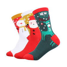 new years socks 2018 new year women winter christmas socks cotton socks