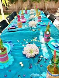 mermaid baby shower decorations the mermaid party ideas diy inspired