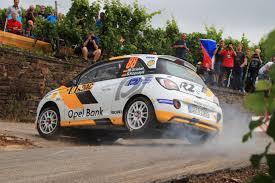 opel rally car opel erc junior stars lead the way at adac rallye deutschland