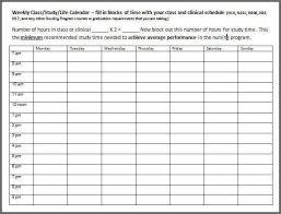 weekly agenda template cris lyfeline co
