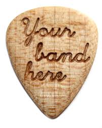 engraved wooden gifts custom engraved wood guitar woodpicks wooden gifts