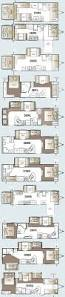 5th Wheel Camper Floor Plans by Best 25 Travel Trailer Floor Plans Ideas On Pinterest Airstream