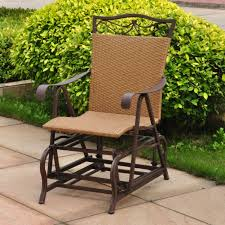 sitting stylish outdoor glider chair design remodeling