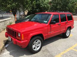 jeep cars red cars we love 1984 2001 jeep cherokee xj tirebuyer com blog