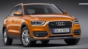 audi orange color 2012 audi q3 front pose in orange color wallpaper