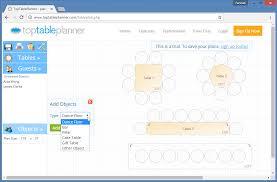 Floor Plan Objects Toptableplanner Comprehensive Event U0026 Wedding Planner Tool
