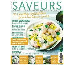 abonnement magazine de cuisine saveurs la gastronomie s invite à votre table et vous enchante