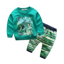children clothing set clothes for boys and sport