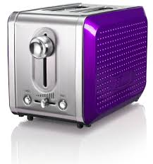 Bella Toaster Reviews Bella Dots Collection 2 Slice Toaster Purple Appliances Small