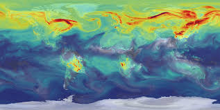 earth wind map earth science data visualizations how to read a heat map