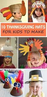 a thanksgiving turkey headband craft for toddlers http