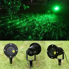 Laser Projector Christmas Lights by Outdoor Green Static Starry Laser Projector Laser Lawn Light For