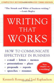 Email Writing In Business Communication by Writing That Works Roman Raphaelson