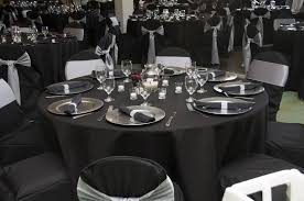 Table Cloths For Sale Wedding Items For Sale Tablecloths Silver Chargers Candle