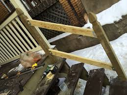 How To Put Up A Handrail How To Build A Handrail For Your Porch Safer Stairs In 3 Hours