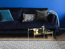 nettoyer canap canape nettoyer canapé velours canape velours bleu avec