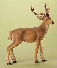 and winter reindeer figurines ebay