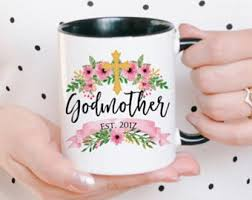 Godmother Mug Godmother Coffee Mug Gift For Godmother Godmother Gift