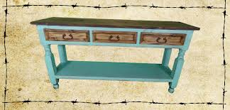 Distressed Sofa Table by Table Sets Ricky Rustics