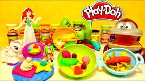 pate a modeler cuisine pâte à modeler play doh la cuisine géante des personnages gâteaux et