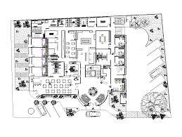Free Park Bench Design Plans by 2d Cad 4 Star Hotel Plan Cadblocksfree Cad Blocks Free