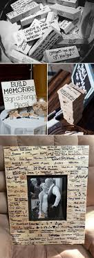 wedding guest book 20 must see non traditional wedding guest book alternatives