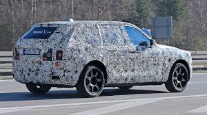 suv rolls royce rolls royce cullinan suv caught testing for the first time