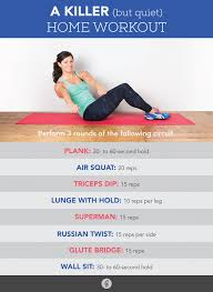 the ultimate home workout a routine that won t annoy your