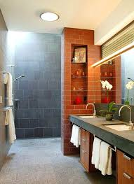 shower designs teach you how to go with the flow doorless walk in