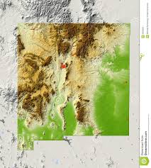 Map New Mexico by New Mexico Shaded Relief Map Stock Photos Image 6003263