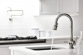 kohler vinnata kitchen faucet kohler kitchen sink faucets faucet com k 99261 cp in polished chrome