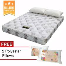 8 u201d bettersleep economy mattress queen size with 2 free polyester