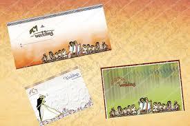 wedding cards designs printing traditional modern addis