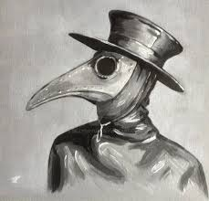 steampunk plague doctor painted canvas art by billyboyuk on deviantart