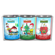 hot cocoa gift set christmas gift set of 3 peanuts colorful hot chocolate charles m