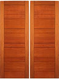 Exterior Flush Door Exterior Flush Door Mahogany Contemporary Design By Aaw