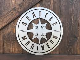 sport team signs mariners seattle baseball signs boys room