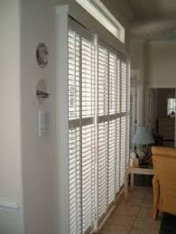 Plantation Shutters On Sliding Patio Doors by Sliding Door Shutters Like How These Stack To One Side Around