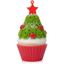 Hallmark Easter Decorations 2016 by 2015 Christmas Cupcake Tasty Tannenbaum Hallmark Keepsake Ornament