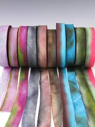 dyed ribbon dyed silk ribbon dyed silk ribbon sets dyed