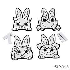 fuzzy easter your own fuzzy easter animal magnets