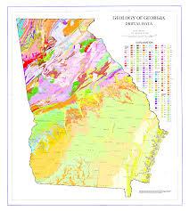 Atlanta Area Map The State Of Georgia Map