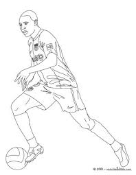 christiano ronaldo playing soccer coloring pages hellokids