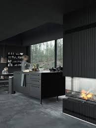 attractive dark ambiance with monochromatic room design hupehome