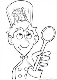 ratatouille coloring pages download print free