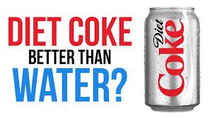 Diet Coke Meme - is diet coke better for you than water youtube