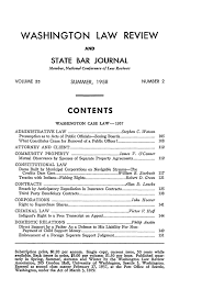 classmate copy price table of contents issue 2 33 washington review and state bar