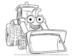 learn draw scoop bob builder bob builder