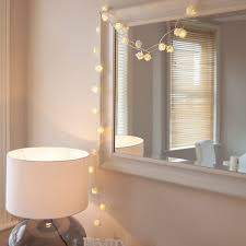 String Lights For Bedroom by Flower String Lights For Bedroom Decorate My House