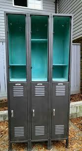 Locker Bookshelf Salvaged Junk Storage Locker Storage Lockers And Storage